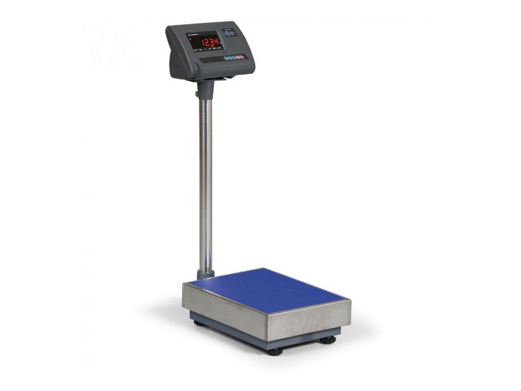 Podlahová plošinová váha 1T, cejchovaná 500 kg/200 g