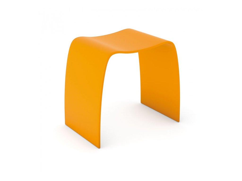 Stolička Bentwood, oranžová