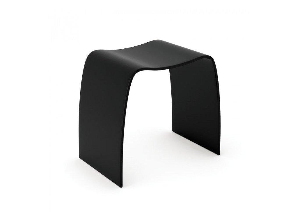 Stolička Bentwood, černá