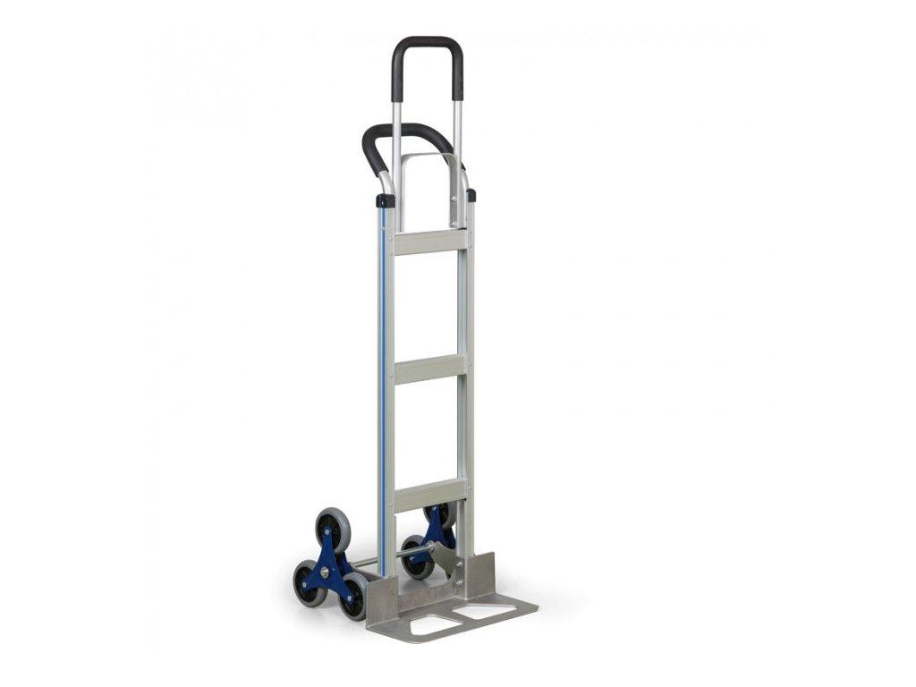 Hliníkový schodišťový rudl, nosnost 200 kg