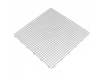 Dlaždice do mokrého prostředí, balení 6 ks, 400x400 mm, barva bílá