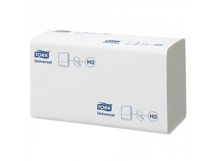 Tork Universal papírové ručníky ZZ, jemné, bílé, 15x 300 ks