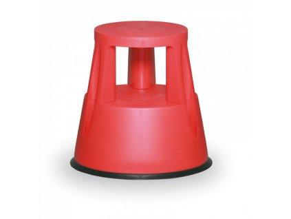 Plastové posuvné stupátko, červené