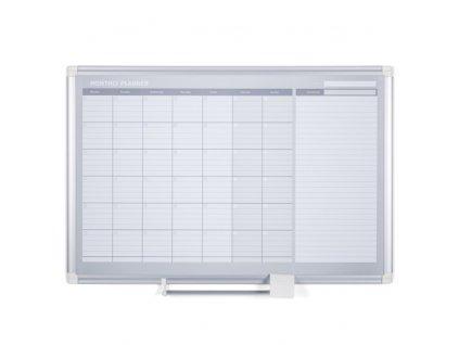Měsíční plánovací tabule LUX, 900x600 mm