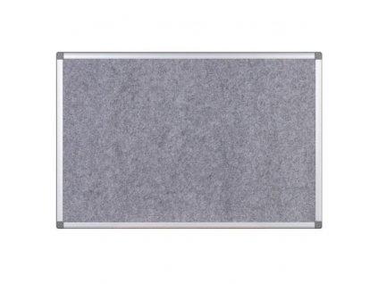 Plstěná nástěnka - šedá 1800 x 1200 mm