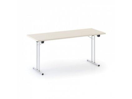 Skládací konferenční stůl Folding 1600 x 800 mm, bříza