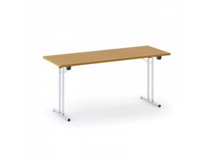 Skládací konferenční stůl FOLD, 1600 x 800 mm, třešeň