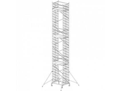 Hliníkové pojízdné lešení Protec XXL 13,3 m