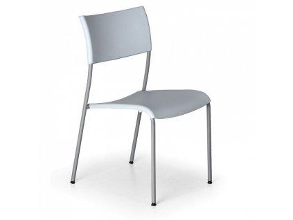 Jídelní židle Forever, šedá