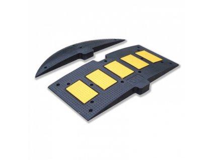 Zpomalovací práh, černá/žlutá