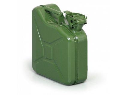 Plechový kanystr na pohonné hmoty, 5 L