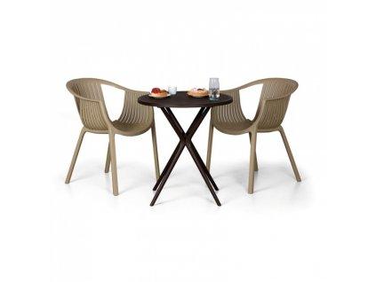 Plastový stůl Coffee Time, kávová