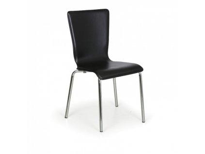 Jídelní židle Caprio, černá