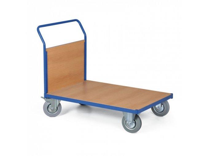 Plošinový vozík s výplní madla, 1000x700 mm, nosnost 400 kg
