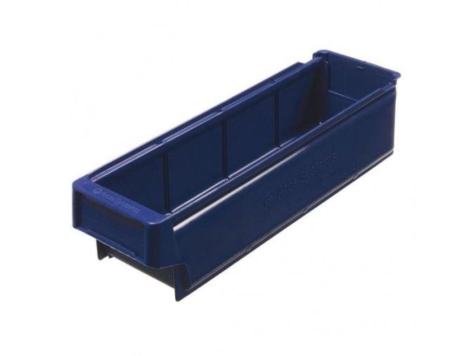 Plastová regálová přepravka SA 400 x 115 x 100 mm