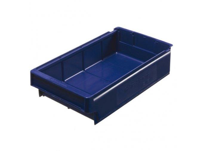 Plastová regálová přepravka SA 400 x 230 x 100 mm