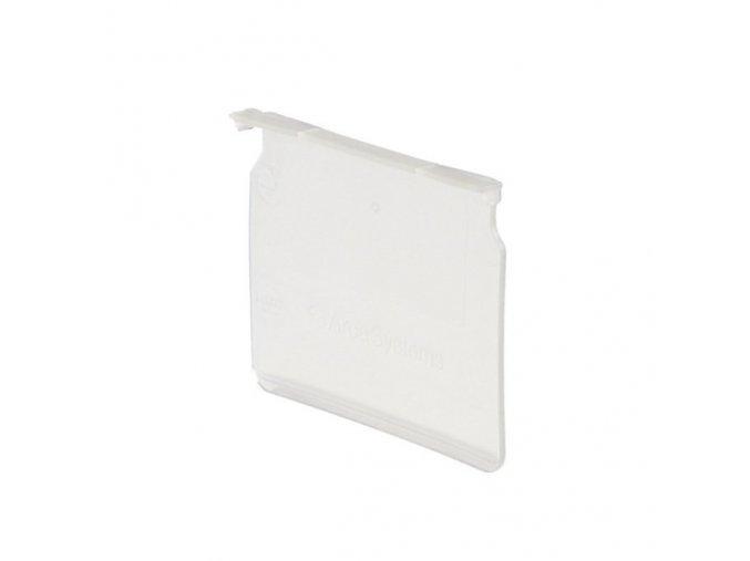 Dělící přepážky pro regálové boxy, šířka 115 mm, 20 ks