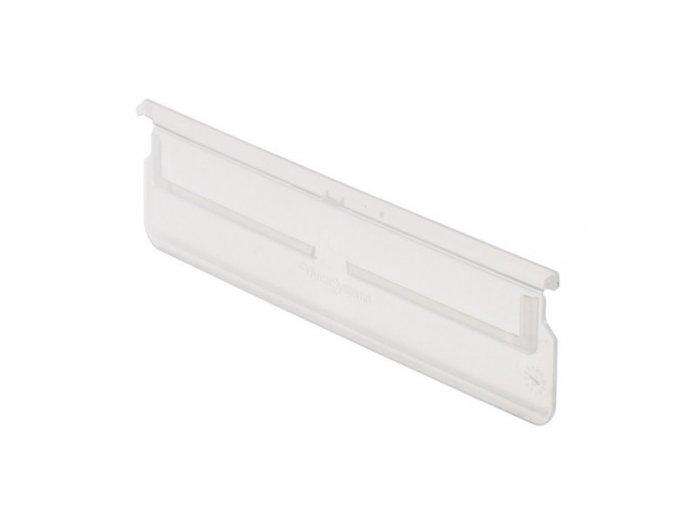 Dělící přepážky pro regálové boxy, šířka 230 mm, 20 ks