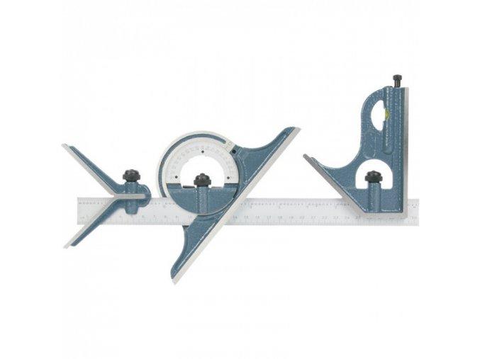 Kombinované měřidlo s úhelníkem a úhloměrem
