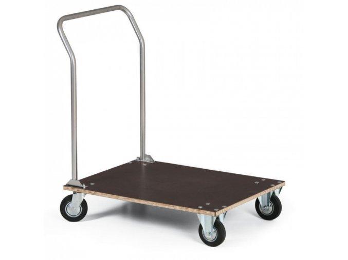 Plošinový vozík, plošina z voděodolné překližky, 800x600 mm