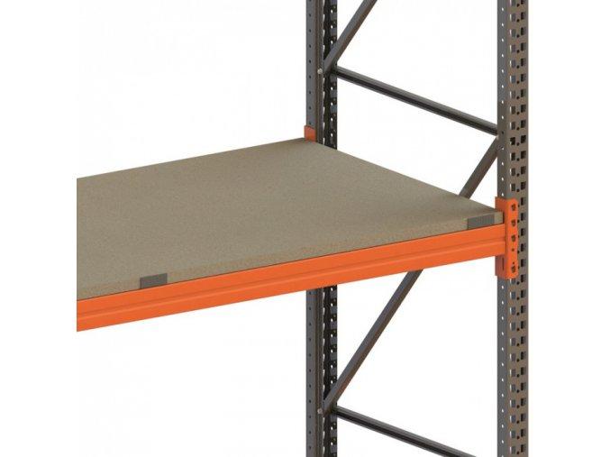 Dřevotřískové police pro paletové regály, 1800 x 1100 mm