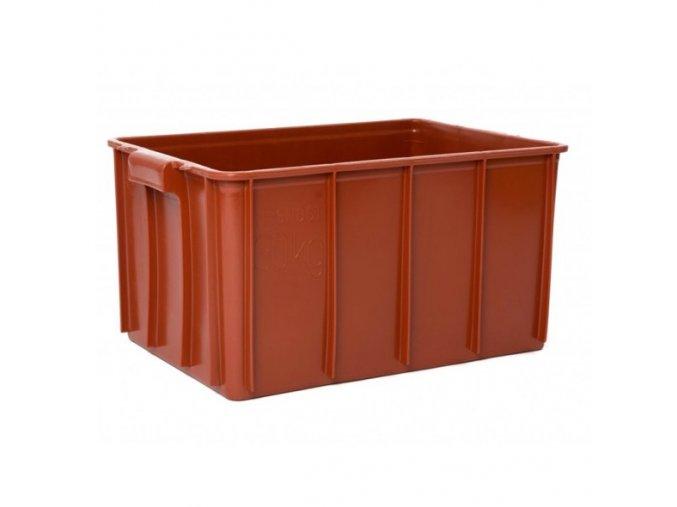 Plastové přepravky na maso typ T 50-30, 600 x 400 x 300 mm