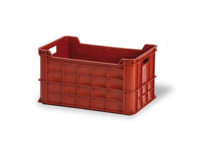 Plastová přepravka na maso, OZT 50-30, 600 x 400 x 325 mm