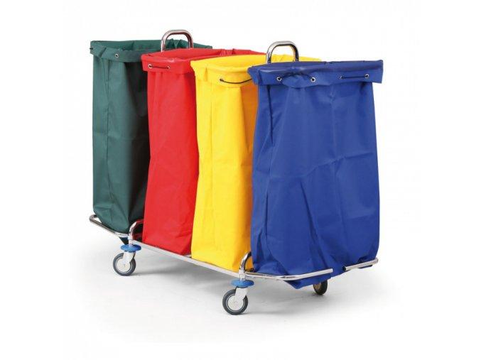 Polyesterové vaky pro vozíky, žlutá