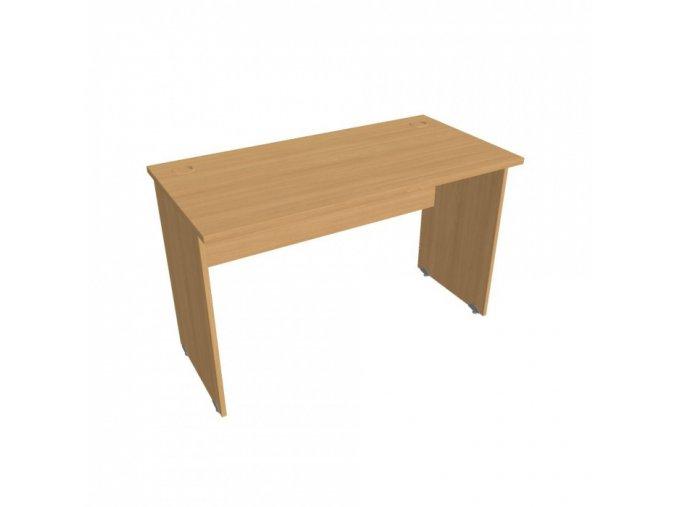Kancelářský pracovní stůl UNI, rovný, 1200 x 600 mm, buk