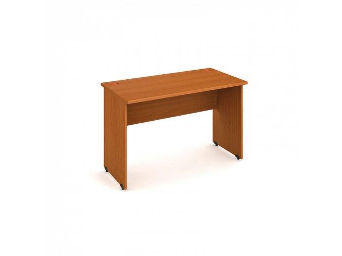Kancelářský pracovní stůl UNI, rovný, 1200 x 600 mm, třešeň