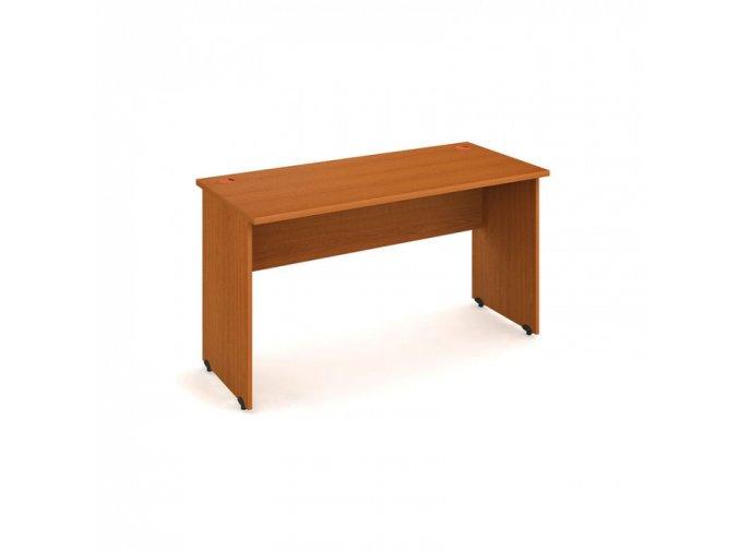 Pracovní stůl UNI, rovný 1400 x 600 mm, třešeň