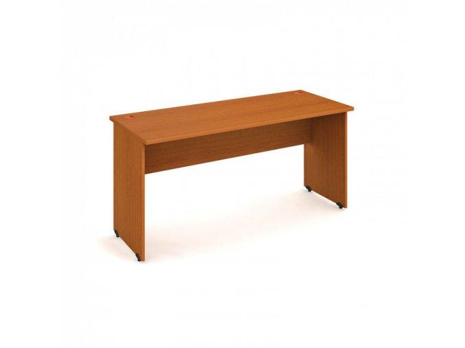 Kancelářský pracovní stůl UNI, rovný, 1600 x 600 mm, třešeň
