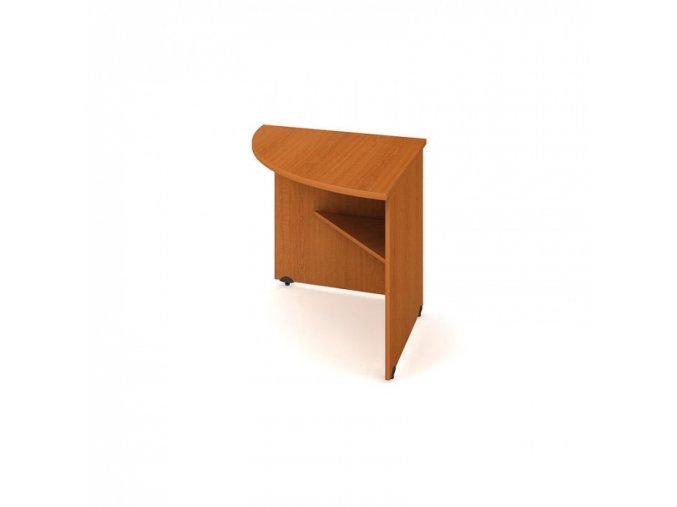 Doplňkový stůl UNI, 90° levý, třešeň