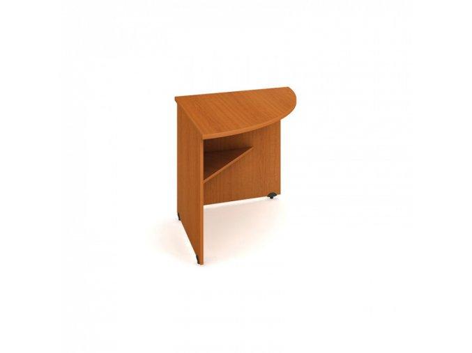 Doplňkový stůl UNI, 90° pravý, buk