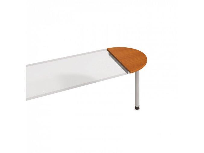 Stůl zakončovací oblouk UNI, třešeň