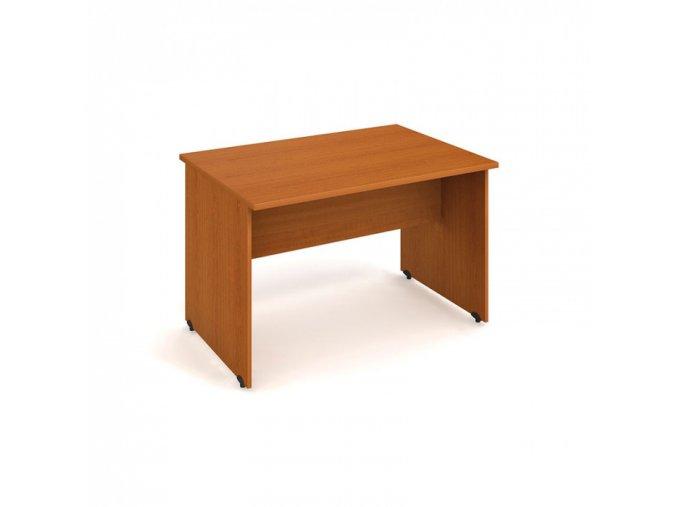 Stůl jednací rovný UNI, 1200 x 800 x 755 mm, buk