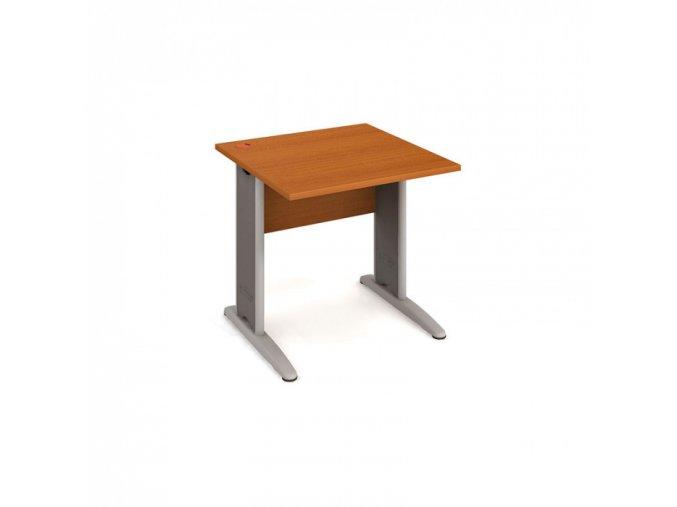 Kancelářský psací stůl SELECT, 800 x 800 mm, třešeň