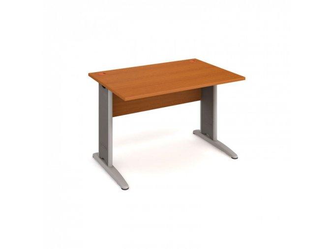 Kancelářský psací stůl SELECT, 1200 x 800 mm, třešeň