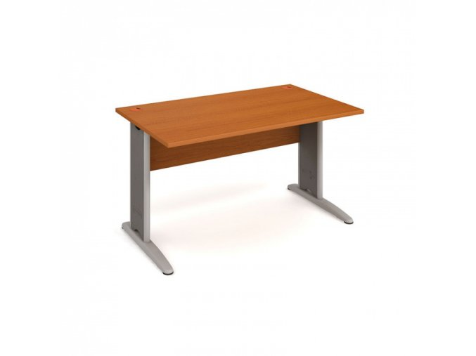 Kancelářský stůl SELECT, 1400 x 800 mm, dezén třešeň