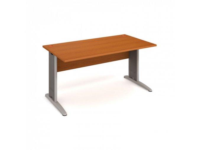 Kancelářský psací stůl SELECT, 1600 x 800 mm, třešeň