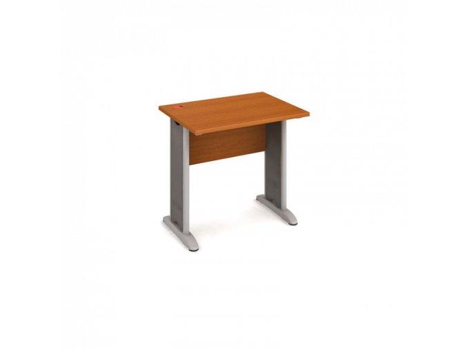 Kancelářský psací stůl SELECT, 800 x 600 mm, třešeň