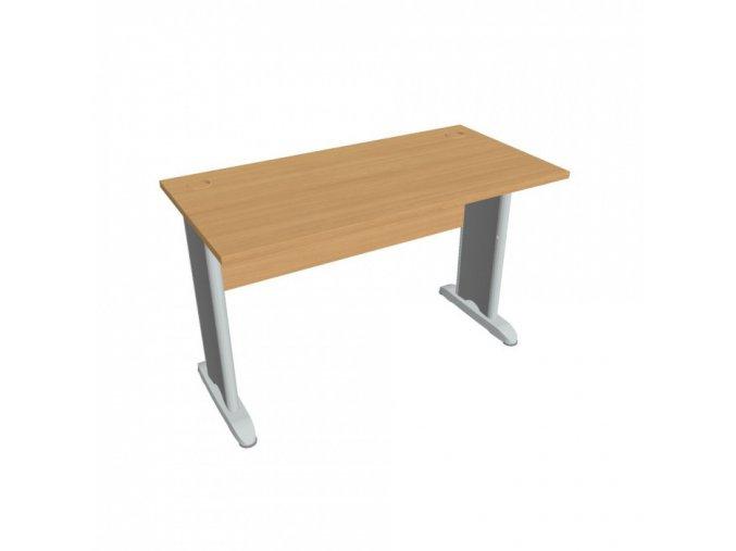 Kancelářský psací stůl SELECT, 1200 x 600 mm, buk
