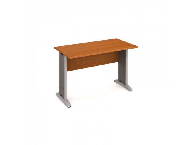 Kancelářský psací stůl SELECT, 1200 x 600 mm, třešeň
