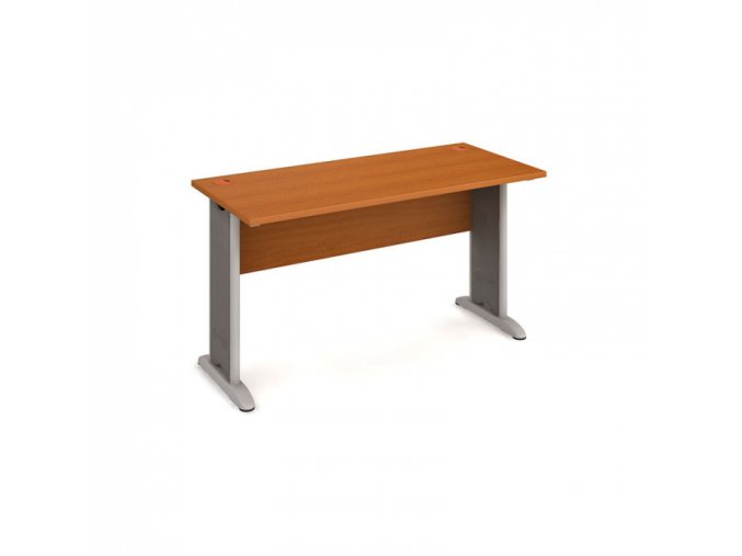 Kancelářský psací stůl SELECT, 1400 x 600 mm, třešeň