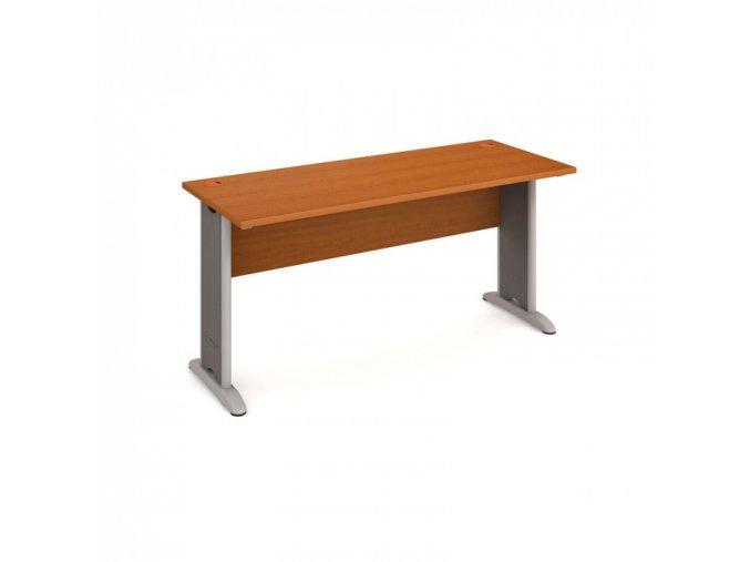 Kancelářský psací stůl SELECT, 1600 x 600 mm, třešeň