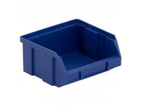 Plastové boxy, 100 x 95 x 50 mm, modré