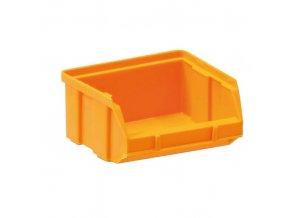 Plastové boxy, 100 x 95 x 50 mm, žlutooranžová