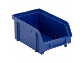 Plastové boxy, 103 x 166 x 73 mm, modré