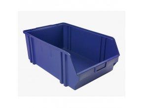 Plastové boxy, 305 x 480 x 177 mm, modré