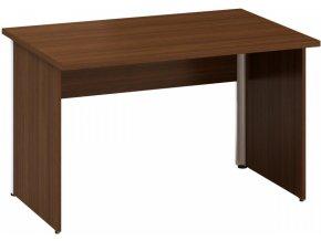 Kancelářský psací stůl CLASSIC A, 1200 x 800 mm, dezén ořech